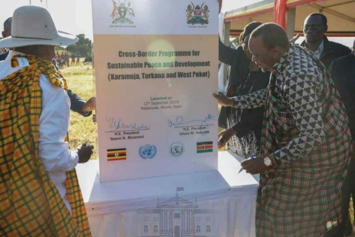 Kenya, Uganda sign pact to end cross-border conflicts between Turkana, Pokot and Karamoja