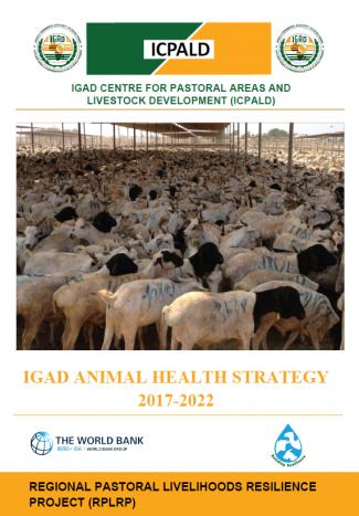 IGAD Animal Health Strategy 2017-2022