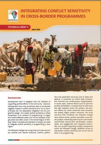 Integrating Conflict Sensitivity in Cross-border Programmes