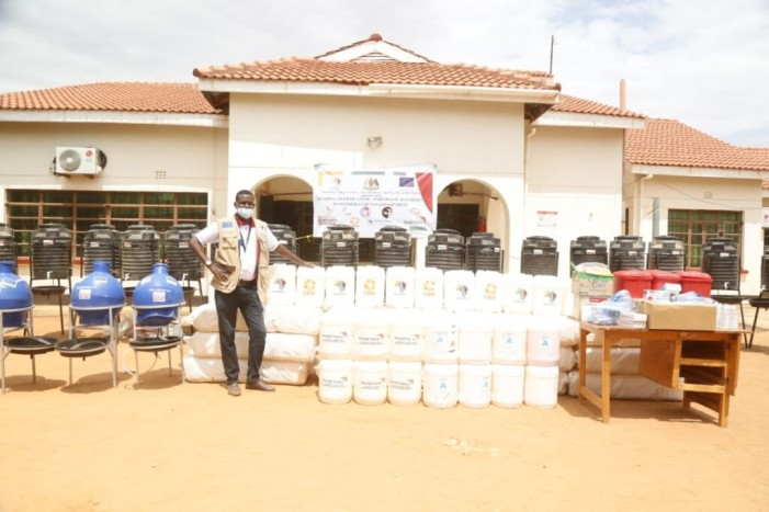 BORESHA Donates COVID-19 Response Materials to Mandera County