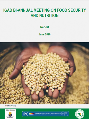 Report of the  IGAD Bi-annual Meeting on Food Security and Nutrition – June 2020